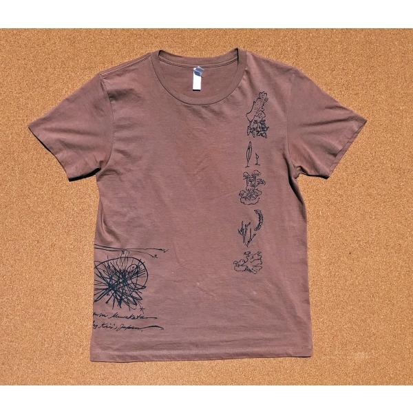 南方マンダラTシャツ【南方熊楠顕彰館オリジナルグッズ】 在庫限り|mikumanonet