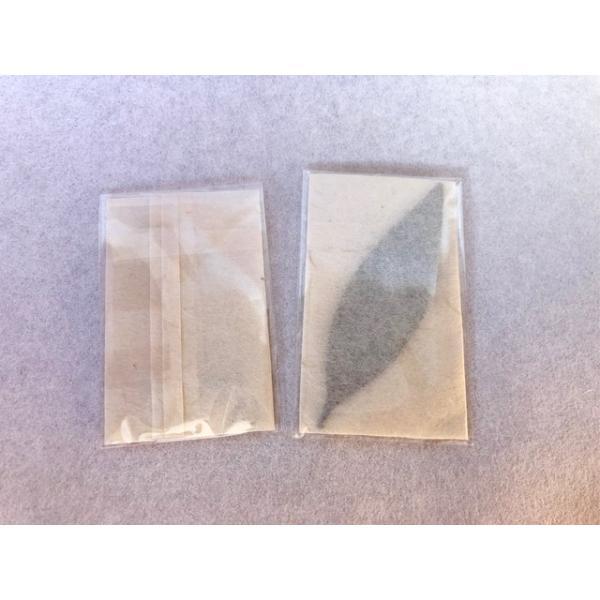 梛(ナギ)の押し葉、熊野紙包み(2枚セット)|mikumanonet|04