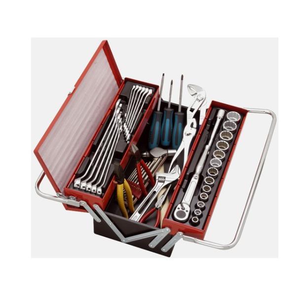 ロブテックス(LOBSTER) エビちゃんプロ用工具セット 45点 <EBI2005> 規格 セット インチ コンビネーションレンチセット