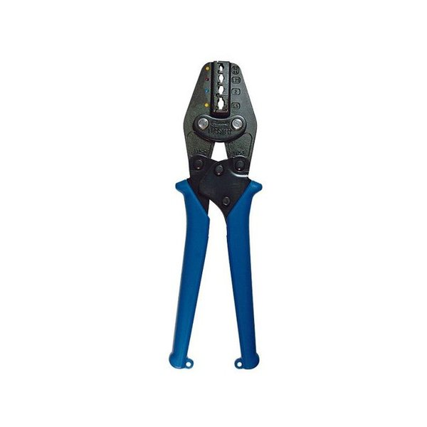 ロブテックス(エビ) 絶縁被覆付圧着端子用 圧着工具 使用範囲 1.25、2 <AK112>