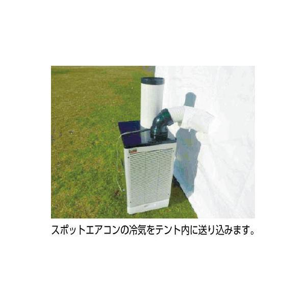 KOK 熱中症対策テント(スポットエアコンセット)HSP-1|mikwa-kiko|02