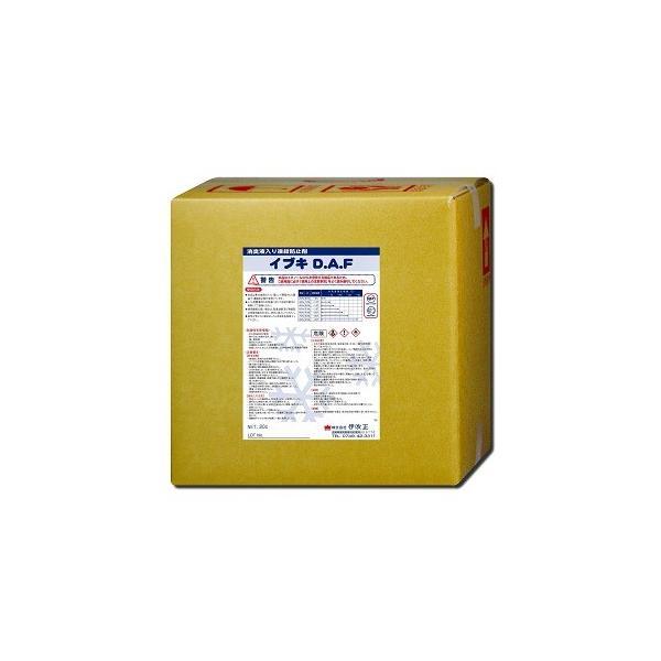 仮設トイレ用凍結防止剤 イブキD.A.F(消臭剤入り)ポリ容器タイプ <20リットル>