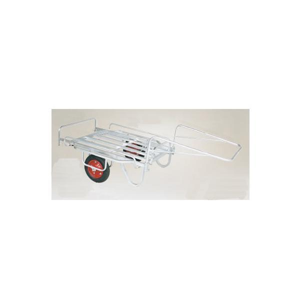 BS-1108 ハラックス 輪太郎 アルミ製 大型リヤカー万能タイプ BS-1108