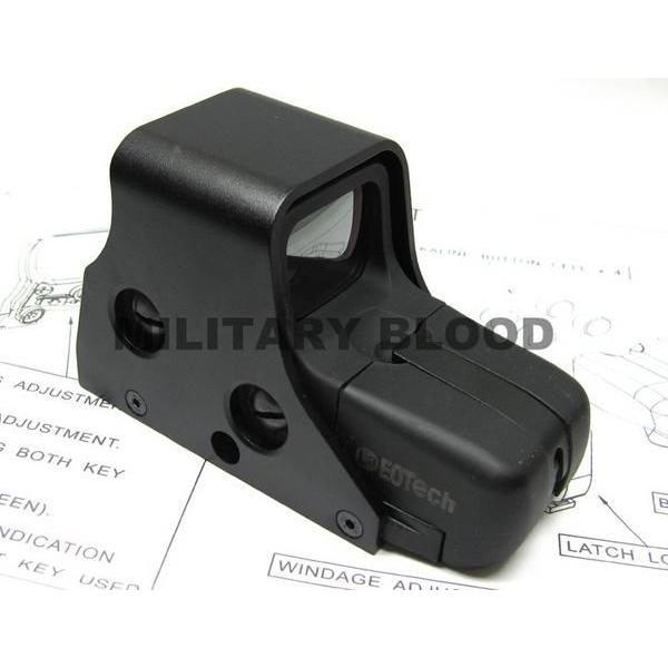 EOtech 551タイプ ホロサイト QD レンズカバー セット BK