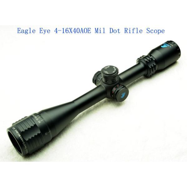 EagleEye 4-16x40AOE フロントフォーカス ライフルスコープ BK