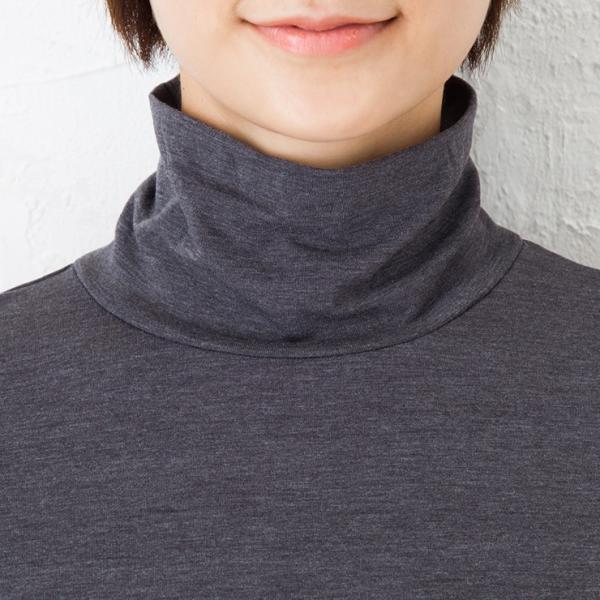 送料無料 ミルフェルム 授乳服  あったか タートルネック 安い ママ服 暖か インナー キャッシュレス ポイント還元|milleferme|14