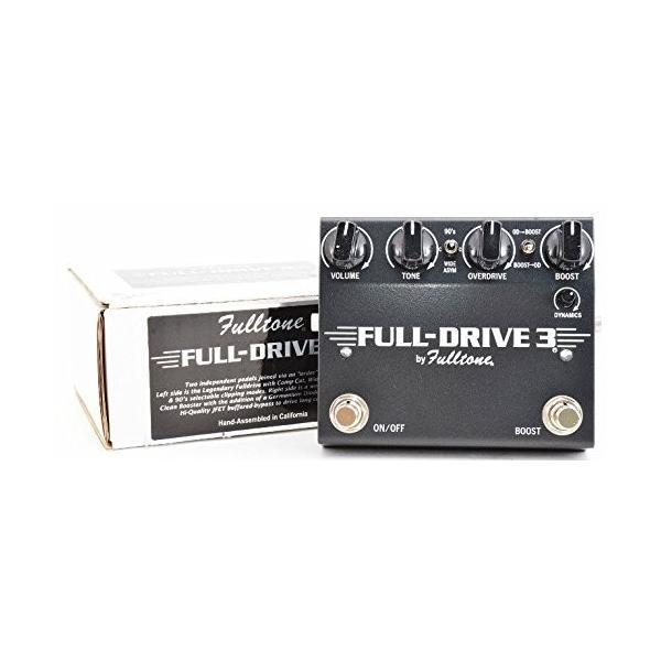 Fulltone フルトーン FULL-DRIVE 3 フルドライブ3 ギター エフェクター オーバードライブ|millennium-store|02