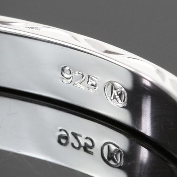 ハワイアンジュエリー ペアバングル ペアブレスレット 名入れ 刻印無料 シルバー925 ハワジュ 2本セット オープンバングル BM5027-6-8P|millionbell|12
