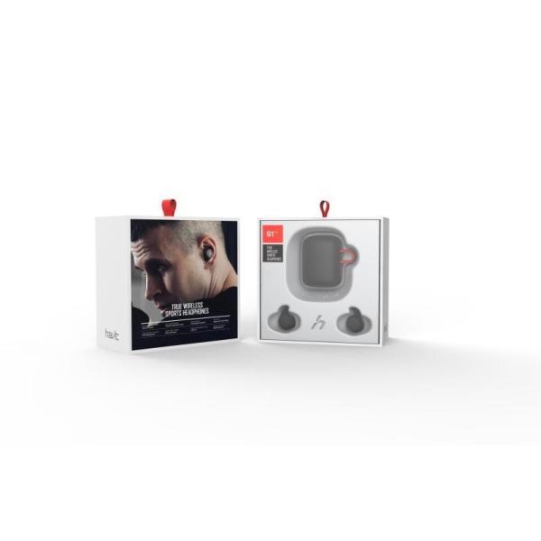 最新型 完全・ワイヤレスイヤホン Havit G1pro Black and Red|mimisola-audio|02
