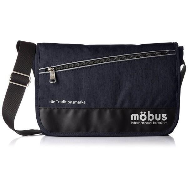 ポイント15倍ドイツブランド Mobus(モーブス) メッセンジャーバッグ ネイビー送料無料