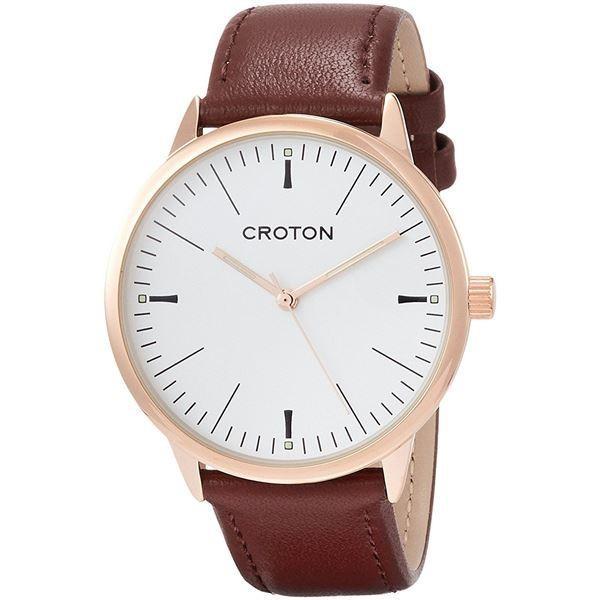 ポイント15倍CROTON(クロトン) 腕時計 3針 日本製 RT-172M-G送料無料
