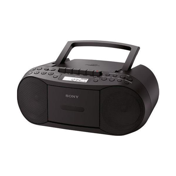 ポイント15倍ソニー CDラジカセ CFD-S70 B ブラック送料無料