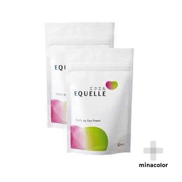【5%還元対象】(2袋セット) エクエル 大塚製薬 パウチ エクオール 120粒 大豆 イソフラボン サプリ サプリメント 更年期障害 美容|minacolor