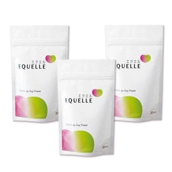 エクエル 大塚製薬 パウチ エクオール 120粒×3袋 大豆 イソフラボン サプリ サプリメント 更年期障害 美容|minacolor