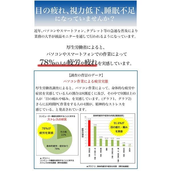 極上 強化ガラスフィルム ブルーライトカット AGC 日本 旭硝子製 9H 2.5D iPad mini 4 アイパッド|minacorporation|03