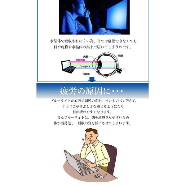 極上 強化ガラスフィルム ブルーライトカット AGC 日本 旭硝子製 9H 2.5D iPad mini 4 アイパッド|minacorporation|05