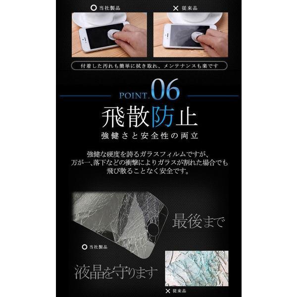 極上 強化ガラスフィルム ブルーライトカット AGC 日本 旭硝子製 9H 2.5D Xperia XZ1 SO-01K SOV3 エクスペリア|minacorporation|13