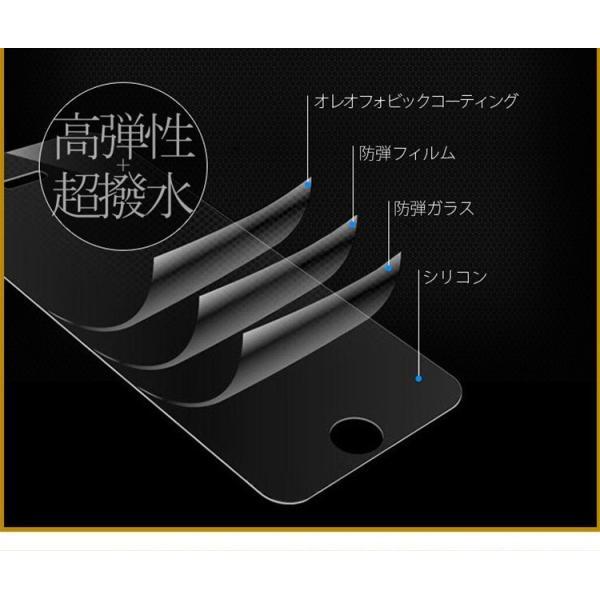極上 強化ガラスフィルム ブルーライトカット AGC 日本 旭硝子製 9H 2.5D Xperia XZ1 SO-01K SOV3 エクスペリア|minacorporation|15
