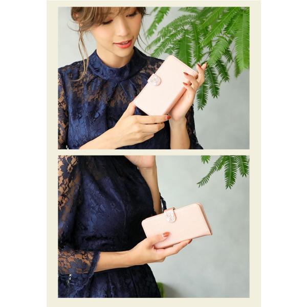 Android Disney Mobile ケース 手帳型 スマホケース docomo 全機種対応 らくらくスマートフォン4  シンプル おしゃれ 女子 minacorporation 04