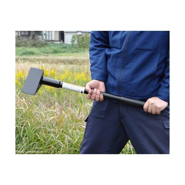 【取扱終了】ヘルコ クサビ型 薪割り斧 DTG-7 『ジャイアントモウル』 (全長77cm) minatodenki 03