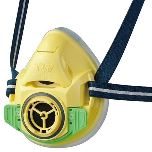 SK11 TW防じん 防毒マスク M-100-YE 4977292902021 [保護具 防塵マスク交換式]