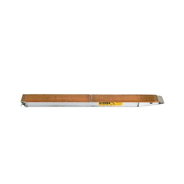 昭和ブリッジ アルミブリッジ 2本組セット KB-180-24-4.0 (180cm/幅24cm/荷重4.0t) minatodenki