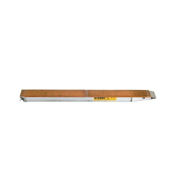 昭和ブリッジ アルミブリッジ 2本組セット KB-180-24-5.0 (180cm/幅24cm/荷重5.0t)|minatodenki