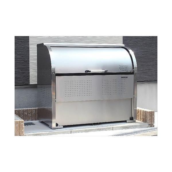 ダイケン ゴミ収集庫 クリーンストッカー CKS-1609型 ステンレスタイプ (容量1250L) [業務用 大型 ダストボックス 屋外用 ゴミ箱 ゴミ置き場]|minatodenki|07