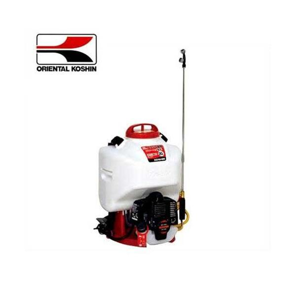 工進 カスケードポンプ式 エンジン動噴 ES-20C (最高圧力0.8MPa/容量20L) [エンジン式 動力噴霧器 動力噴霧機]
