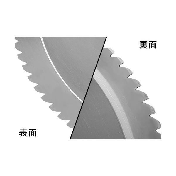 ミナト PMS-250F専用 回転刃 ノコギリ刃 250mm (高品質イタリア製) [肉スライサー パンスライサー フードスライサー]|minatodenki|02