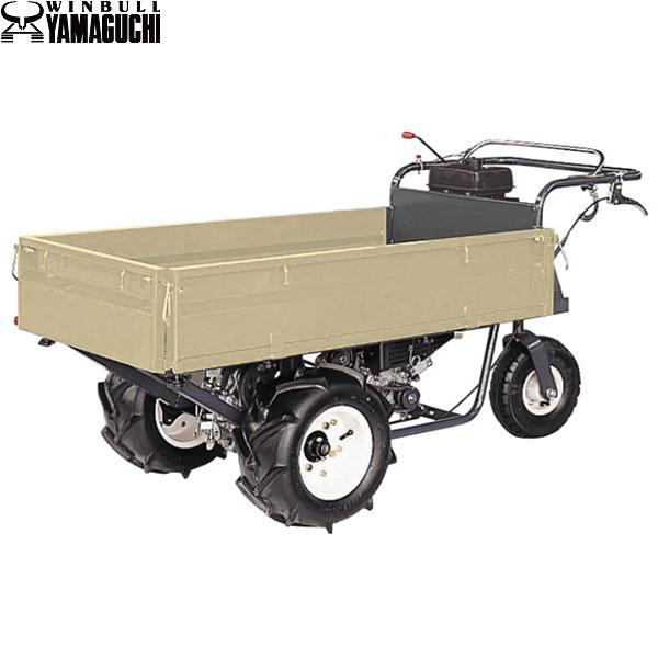 ヤマグチ 押型三輪車 YM-25 (積載250kg/三方スライド式二方ドア/サイドクラッチ方式) [エンジン式 動力運搬車]
