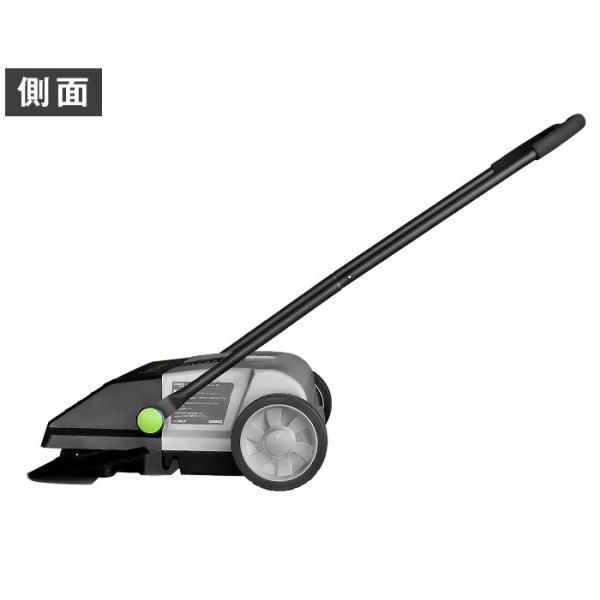 ミナト 手押し式スイーパー ロードスイーパー RSW-550 [屋外 掃除機 落ち葉 集塵機 集じん機]|minatodenki|16