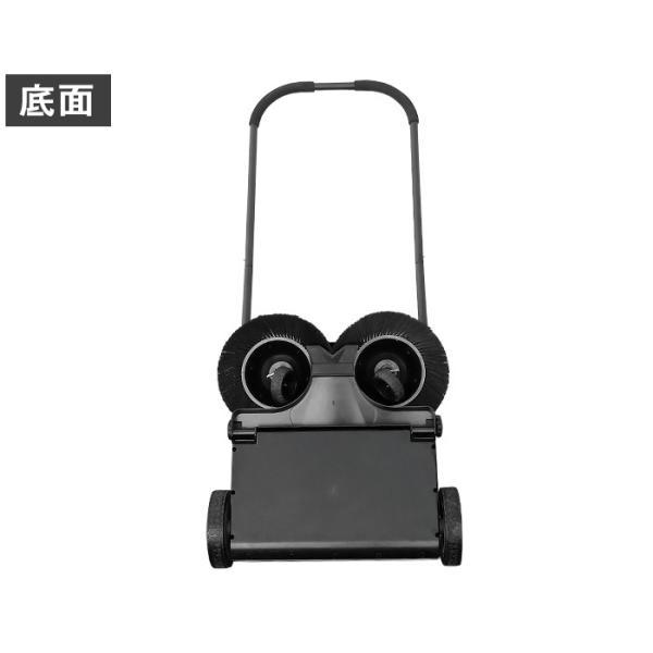 ミナト 手押し式スイーパー ロードスイーパー RSW-550 [屋外 掃除機 落ち葉 集塵機 集じん機]|minatodenki|18