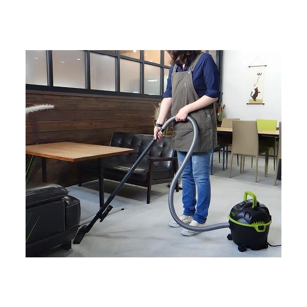 ミナト 乾湿両用掃除機 バキュームクリーナー MPV-101 [業務用 掃除機 集塵機]|minatodenki|17