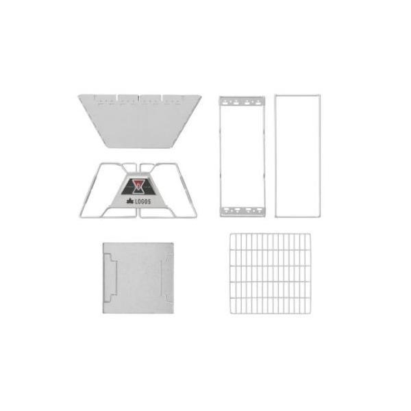 ロゴス(LOGOS) LOGOS The ピラミッドTAKIBI L 81064162 [バーベキュー クーラー 焚き火・囲炉裏・かまど]|minatodenki|04