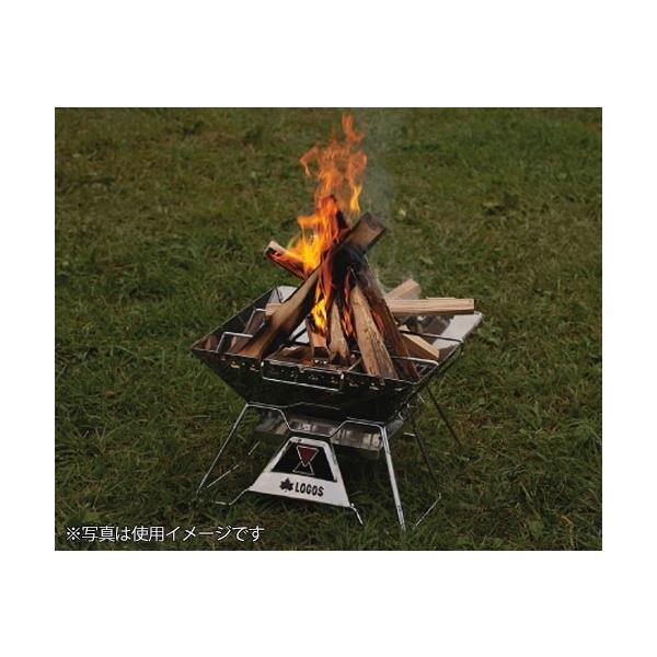ロゴス(LOGOS) LOGOS The ピラミッドTAKIBI L 81064162 [バーベキュー クーラー 焚き火・囲炉裏・かまど]|minatodenki|09