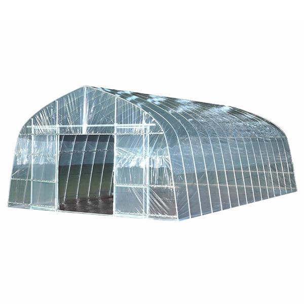ビニールハウス 菜園ハウス四季 OH-4575 (10.2坪/スライド式扉) [南栄工業 ナンエイ ビニール温室]|minatodenki