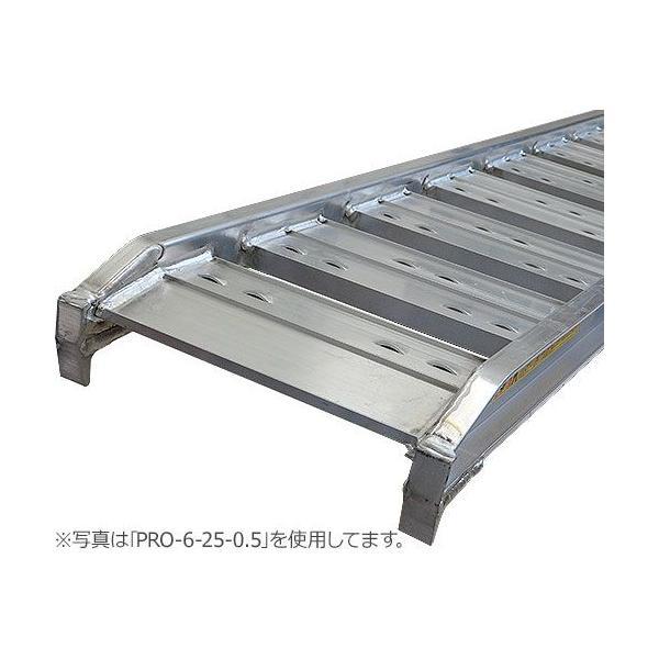 昭和ブリッジ アルミブリッジ 2本セット PRO-6-30-0.8 (長さ180cm×幅30cm/積載重量800kg) [道板]|minatodenki|02