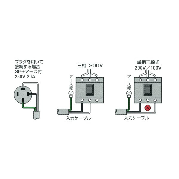イクラ ダウントランス PT-30T (30A/昇降機能付) [変圧器 降圧トランス]|minatodenki|03