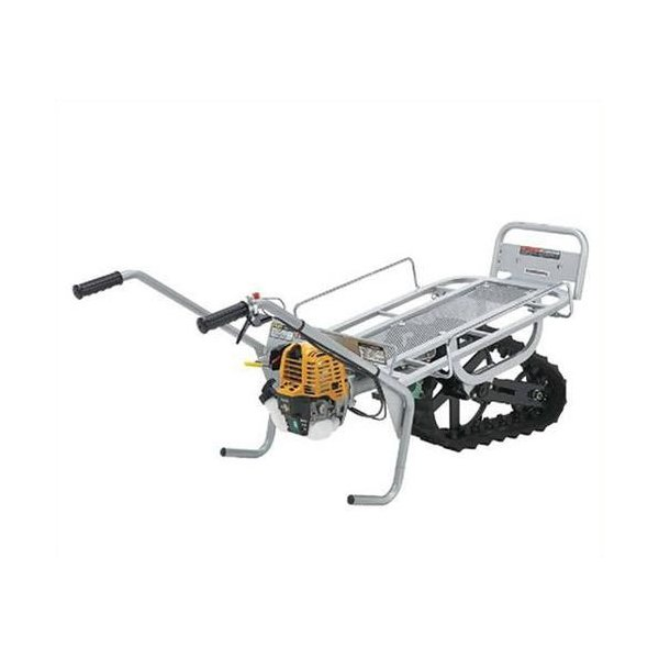 マキタ 一輪クローラー運搬車 くろ助 足固定タイプ RKI-81E4F (ロビン4ストエンジン) [エンジン式 動力運搬車]