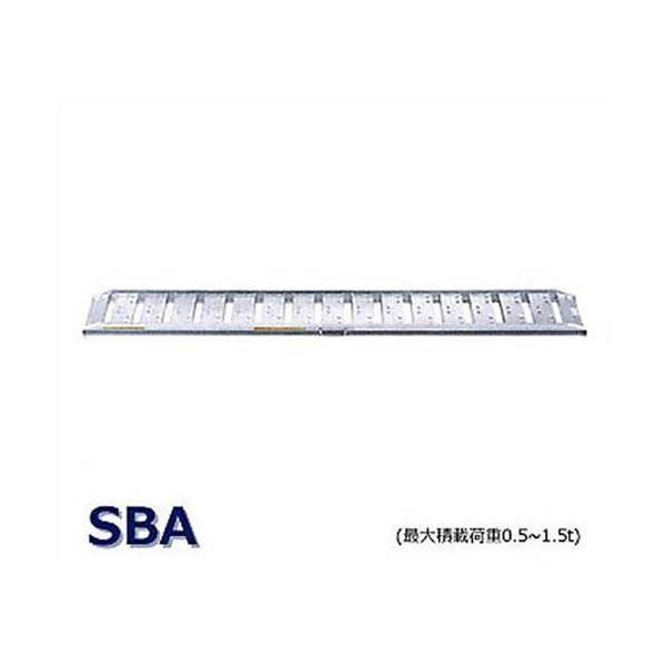 昭和ブリッジ アルミブリッジ 2本組セット SBA-180-30-0.5 (180cm/幅30cm/荷重0.5t/ツメ)