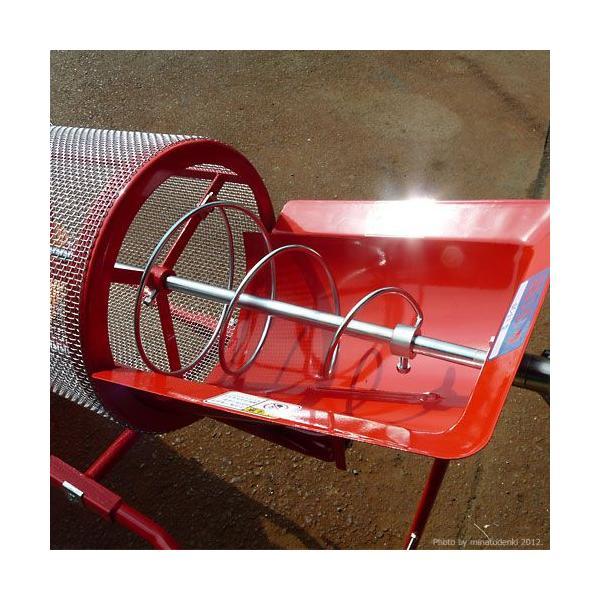 みのる 回転式 土ふるい機 SC-1 (手回し式/網目4mm) [砂ふるい機 篩機 回転ふるい機 回転フルイ]|minatodenki|03