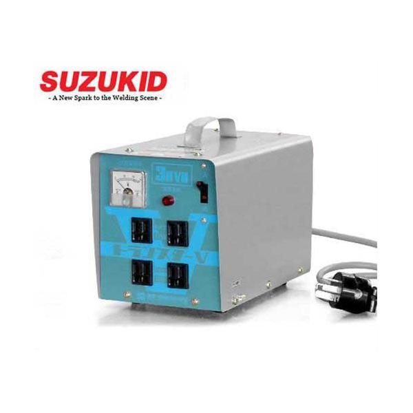 スズキッド ダウントランス トランスターV STV-3000 [スター電器 SUZUKID 降圧変圧器 降圧トランス] minatodenki