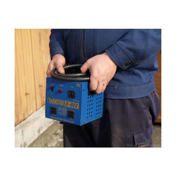 スズキッド ダウントランス トランスター STX-3QB (昇圧機能付き) [スター電器 SUZUKID 降圧変圧器 降圧トランス] minatodenki 02