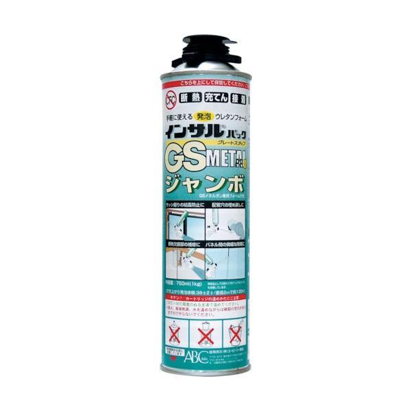 ABC 一液型簡易発泡ウレタン(注入ガン専用型)GSMPJ-F&S750ML GSMPJ [GSMP-J][r20][s9-810]