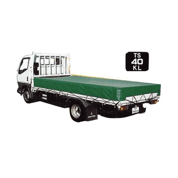 大型トラック用 荷台シート TS-40KL (KL生地) [トラックシート]|minatodenki