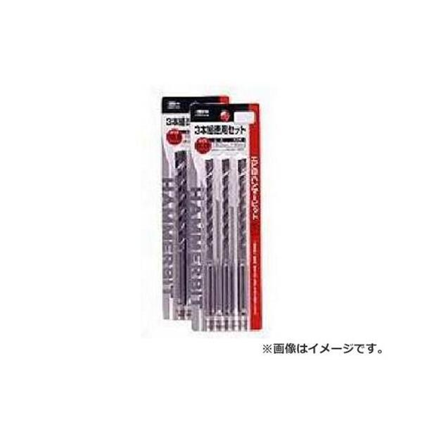 ロブテックス ハンマービットセット/3P HB 80160S [エビ LOBSTER コンクリート ブロック 穴開け HB 80160S]