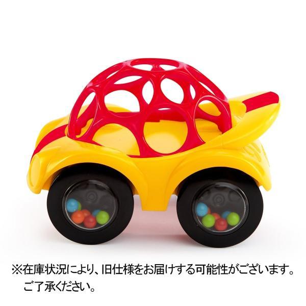 O'ball オーボール ラトル&ロール レッドカー (81559) by Kids II minatojapan-y02 02