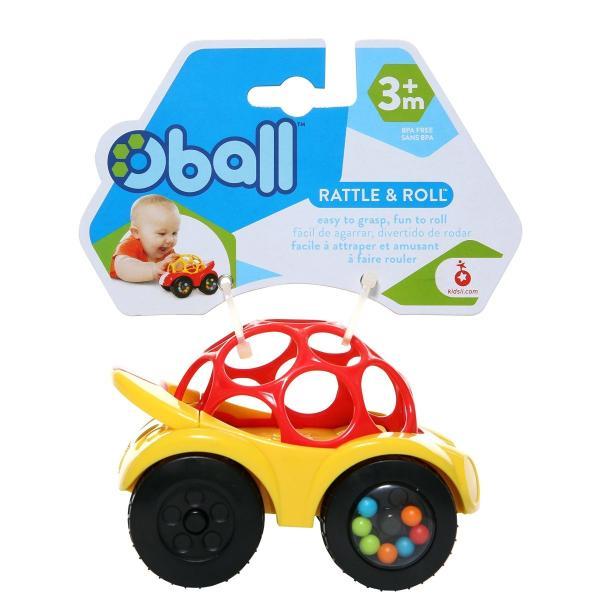 O'ball オーボール ラトル&ロール レッドカー (81559) by Kids II minatojapan-y02 05