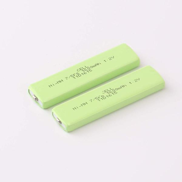 DNTselect Ni-MH 角型ニッケル水素電池 NH-14WM 互換品 2個パック 1600mAh|minatojapan-y02